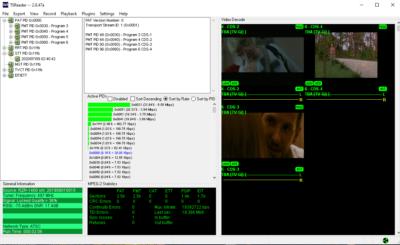 TSReader for ATSC 1.0 test & measurement